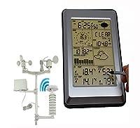 Caratteristiche del prodotto: La misurazione di alta precisione può essere utilizzata per comprendere la temperatura e l'umidità interne ed esterne, la pressione, la pioggia, la velocità del vento e le variazioni di direzione del vento.Software per P...