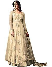 Krishna Creation Women's Cotton Full Flare Party Wear And Casual Wear Long Kurti For Women, Kurtis For Women,... - B07J1WZBRT