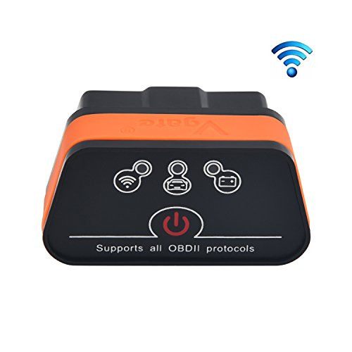 Vgate iCar 2 Wifi Wlan EOBD OBDII OBD 2 KFZ Auto Interface Diagnose Android iOS Windows (Obd Reader Iphone)