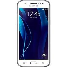 "Samsung Galaxy J5 - Smartphone libre Android (pantalla 5"", cámara 13 Mp, 8 GB, Quad-Core 1.2 GHz, 1.5 GB RAM), blanco"