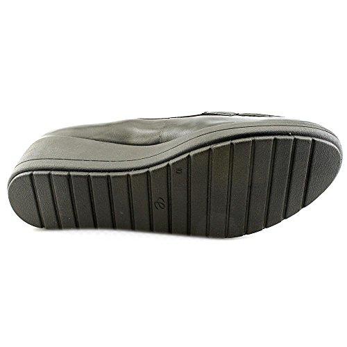 Easy Spirit e360 Coria Breit Leder Slipper Blk/Blk