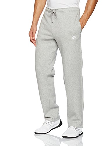 Nike Herren Club Trainingshose, Grau(Dark Grey Heather/White), XXL