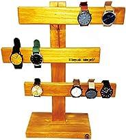 Organizador de relojes de madera TRITON