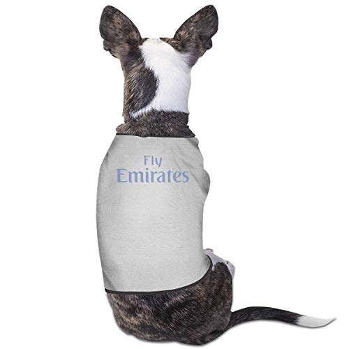 Jiaojiaozhe Fly Emirates Pet Service Pet Clothing Funny Dog Cat Costume Tshirt Gray (Fly Girl Kostüm)