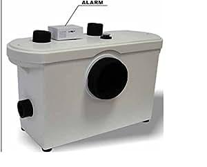 hebeanlage abwasserpumpe pumpe kleinhebeanlage f kalien wc. Black Bedroom Furniture Sets. Home Design Ideas