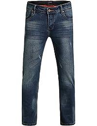 SSLR Jeans Homme Slim Fit Pantalon Denim Décontracté