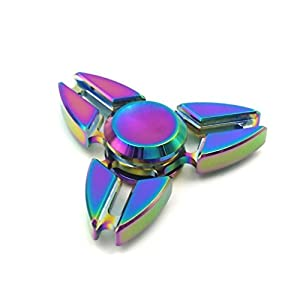 Love My Fashions® Fidget Spinner Metal High Speed Hand Spinner Ultra Durable Stress Reducer Toy for Kids Adults Anxiety Relief, ADD and ADHD