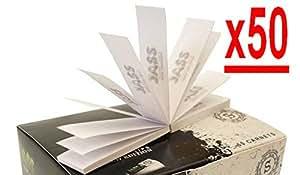 boite de 50 paquets de 50 filtres en carton(toncar)