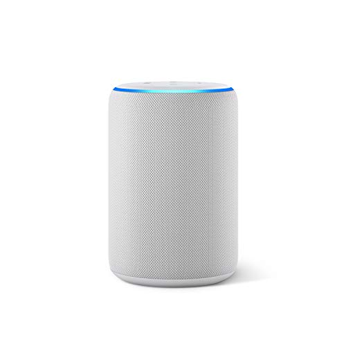 Der neue Amazon Echo (3. Generation), smarter Lautsprecher mit Alexa, Sandstein Stoff