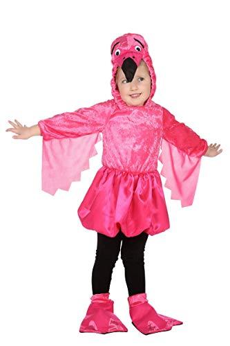(Wilbers Kinder Kostüm Flamingo Vogel Karneval Fasching Gr.128)