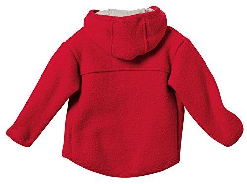 Disana 32303XX - Walk-Jacke Wolle rot, Size / Größe:74/80 (6-12 Monate)