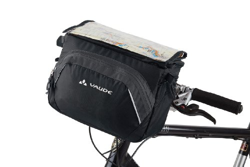 vaude-road-ii-bolsa-delantera-para-bicicleta-21-x-27-x-17-cm-gris-black-anthracite-talla21-x-27-x-17