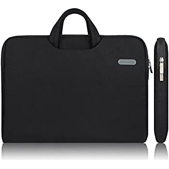 arvok 15 15 6 inch water resistant canvas fabric laptop electronics. Black Bedroom Furniture Sets. Home Design Ideas