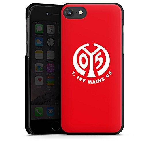 Apple iPhone 6s Silikon Hülle Case Schutzhülle 1. FSV Mainz 05 e.V. Fanartikel Fußball Hard Case schwarz