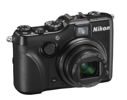 Nikon Coolpix P7100 Digitalkamera (10 Megapixel, 7-fach Weitwinkelzoom, 7,5 cm (3 Zoll) Display, bildstabilisiert) schwarz