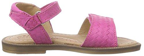 CliC Sandale, Sandales ouvertes fille Rose - Pink (HORTENSIA)