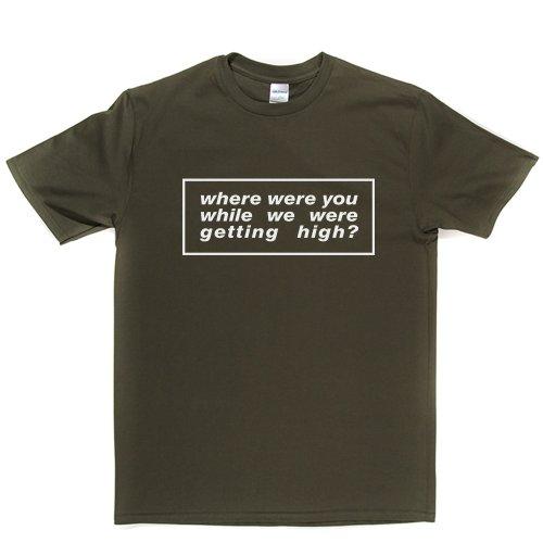 Where Were You Rock Lifestyle Tee T-shirt Militärgrün