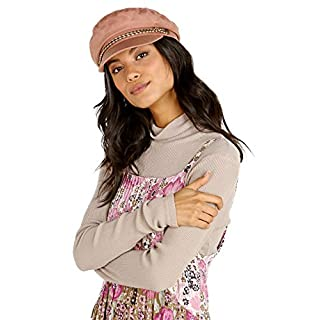 Brixton Damen Ashland Cap Headwear, Rose/Braun, S