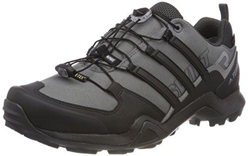 adidas Herren Terrex Swift R2 GTX Trekking- & Wanderhalbschuhe, Grau (Gricin/Negbas/Carbon 000), 44 2/3 EU Gore-tex ® - Systeme