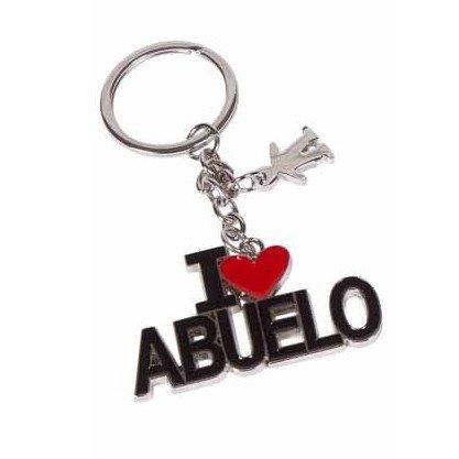 ABUELO Llavero I Love