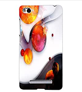 ColourCraft Abstract Image Design Back Case Cover for XIAOMI MI 4I