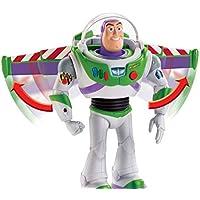 Toy Story- 4 Disney Pixar Buzz Lightyear Missione Speciale da 18 cm, Tecnologico, Personaggio Parlante, Ali Che Si Aprono, Giocattolo per Bambini di 3+ Anni, Colore, GGH44