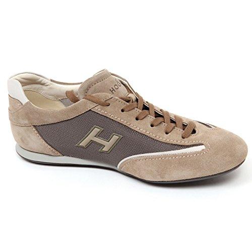 Nueva Limitada D0080 sneaker uomo HOGAN OLYMPIA SLASH scarpa H flock tortora shoe man Tortora Pago De Envío Libre Con Paypal kLwKKUaH