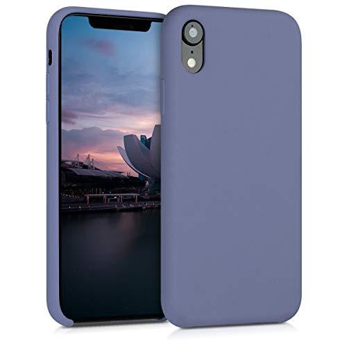 kwmobile Apple iPhone XR Hülle - Handyhülle für Apple iPhone XR - Handy Case in Lavendelgrau
