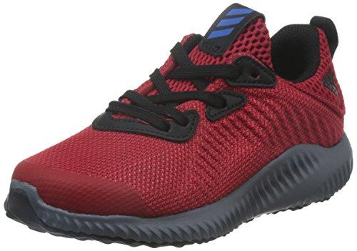 adidas  Alphabounce C, chaussure de sport Unisexe - enfant Rosso (Escarl/Azul/Negbas)