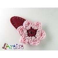 Blume Haarspange - freie Farbwahl