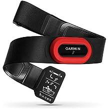 Garmin HRM Run Pecho Bluetooth Negro, Rojo monitor de ritmo cardiaco - Monitor de ritmo cardíaco (30 mm, 12 mm, 59 g, CR2032, 1 año(s), Negro, Rojo)