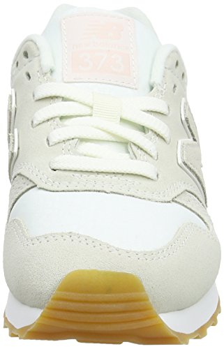 New Balance 373, Baskets Femme Blanc (Cream)