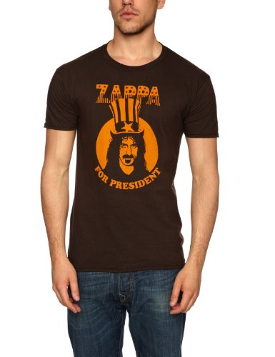frank-zappa-zappa-for-president-maglietta-uomo-marrone-brown-s