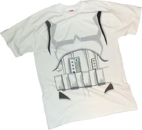 Wars -- Kostüm T-Shirt, L (Stormtrooper Kostüm Shirt)
