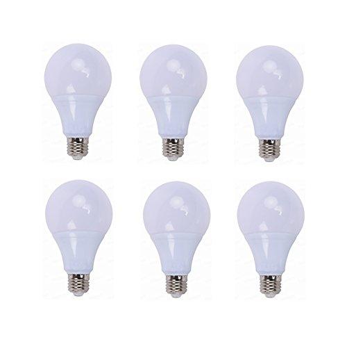 Bombillas de luz LED de 12 voltios Base de tornillo E26 / E27 3000K / 6000K 3W / 5W / 7W / 9W / 12W / 15W 12 voltios-24 voltios de CA / CC para vehículos, caravanas interiores y botes, rejilla y accesorios de iluminación solarNOTA: estas bombillas so...