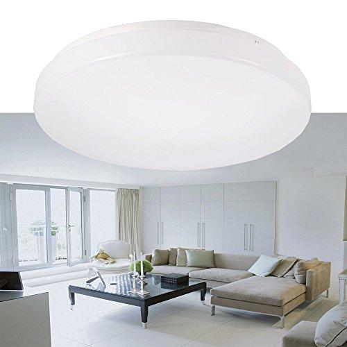 Ustellar-12W-Waterproof-LED-Ceiling-Lights-100W-Incandescent-Bulbs-Equivalent-950lm-IP44-275cm11in-LED-Flush-Mount-Ceiling-Lights-6000K-Daylight-White