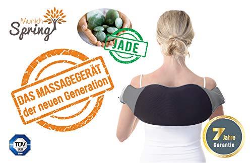 MunichSpring Nackemassagegerät mit Jade Optimus New Generation mit Jade 7 Jahre Garantie