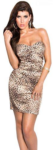sexy Minikleid * Gr. S M L XL * Kleid Abendkleid ärmellos Cocktailkleid Etuikleid im Satin-Look...