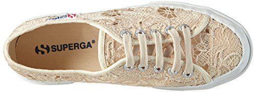 Superga 2750-Macramew, Scarpe da Ginnastica Donna Beige (Ivory)