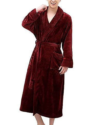 Womens Cotton Robe Soft Kimono Robes Knit Bathrobe Loungewear Sleepwear