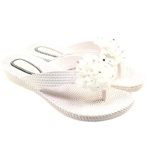 womens-diamante-ruffle-wedge-flip-flops-sandals-white