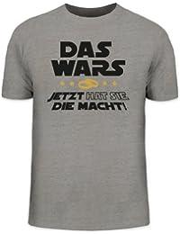JGA 45 - DAS WARS - JETZT HAT SIE DIE MACHT! Junggesellenabschied Herren T-Shirt Fun Shirt Funshirt
