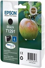 Epson Singlepack Black T1291 DURABrite Ultra Ink - Cartucho de tinta para impresoras (Negro, Inyección de tint