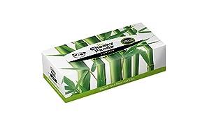 The Cheeky panda 100% bambù Veline Flat box, confezione da 80fazzoletti