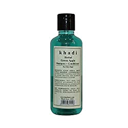 Khadi Herbal Green Apple Shampoo + Conditioner - 210ml