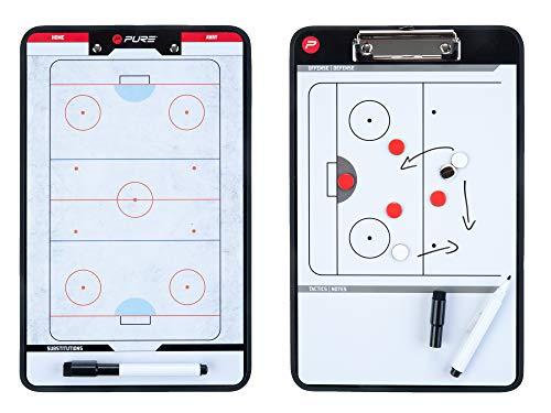 Pure2Improve Pizarra de Entrenamiento para Hockey sobre Hielo, 35x 22cm