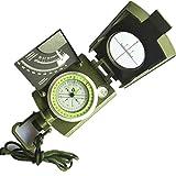 Unbekannt Multifunktionskompass Amerikanisch Multifunktionsgeeignet Geeignet für Outdoor-Camping-Klettergeschenk -