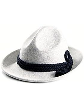 ALMBOCK Trachtenhut Herren   Trachten Hut für Herren aus 100% Filz in den Farben schwarz, braun, grau, grün und...