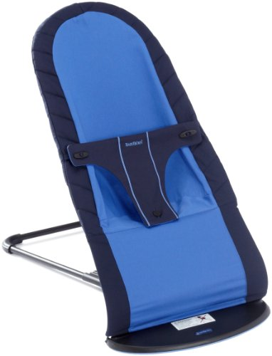 BabyBjörn 009066 - Silla balancín para bebés para niños de 3,5 a 12 kg, color azul