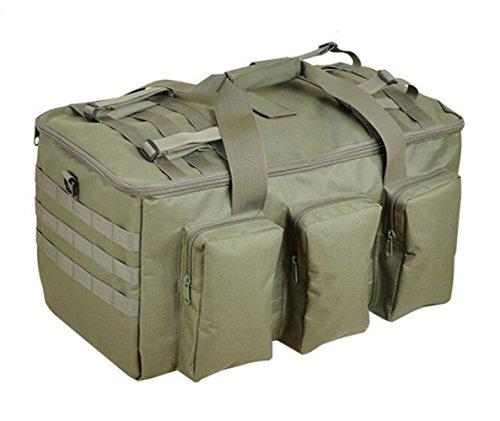 GOUQIN Outdoor Rucksack Klassische Mode Outdoor Schultern Package Tour Klettern Taschen King Size Gepäck. Grün